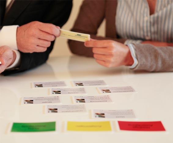 Reiss Profil Kartenspiel